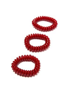 Резинка-браслет для волос Mitya Veselkov. Цвет: бордовый