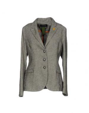 Пиджак IANUX. Цвет: зеленый-милитари