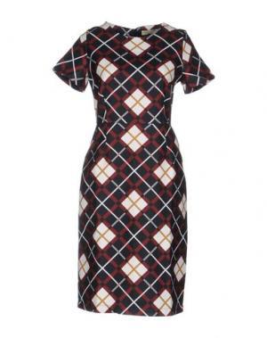 Платье до колена LOU LONDON. Цвет: черный
