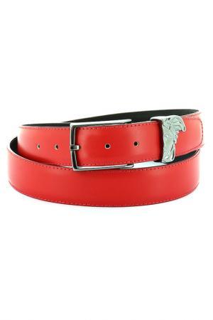 Ремень Versace Collection. Цвет: красный