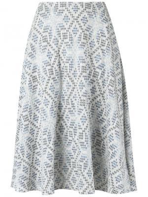 Knit midi skirt Cecilia Prado. Цвет: серый