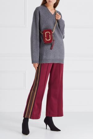 Кожаная сумка Marc Jacobs. Цвет: красный