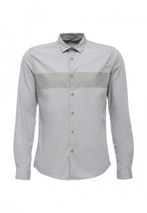 Рубашка Drywash. Цвет: серый