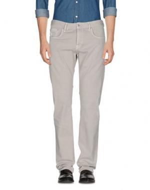 Повседневные брюки RA-RE. Цвет: светло-серый