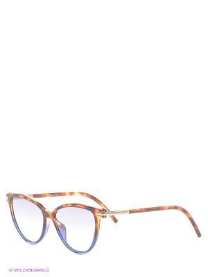 Солнцезащитные очки MARC JACOBS. Цвет: рыжий, синий