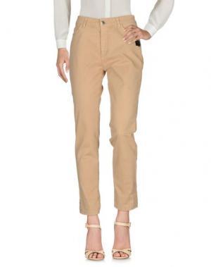 Повседневные брюки CRISTINAEFFE. Цвет: бежевый