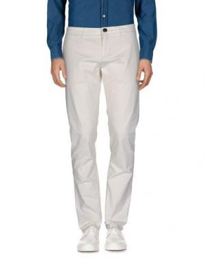Повседневные брюки HAMPTONS. Цвет: слоновая кость