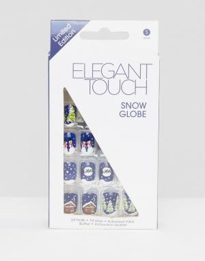 Elegant Touch Накладные ногти Christmas. Цвет: мульти