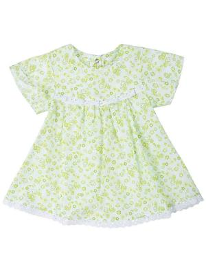 Платье (хлопковая ткань с шитьём) Грачонок