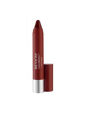 Бальзам для губ матовый Colorburst Matte Balm, Standout 250 Revlon. Цвет: красный