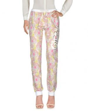 Повседневные брюки HAPPINESS. Цвет: розовый