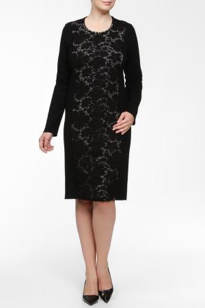 Платье Elisa Fanti. Цвет: черный