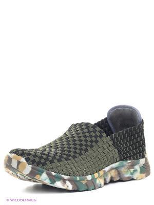 Ботинки Dino Ricci. Цвет: хаки, черный