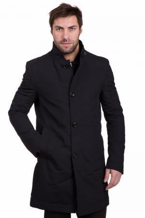 Пальто Cinque. Цвет: чёрный