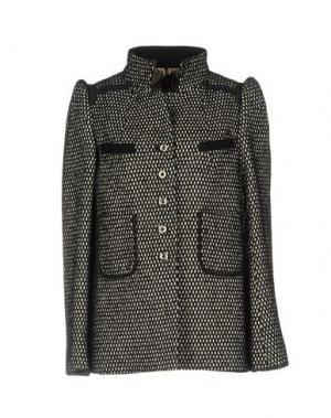 Пальто 6267. Цвет: черный