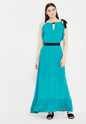 Платье Motivi. Цвет: голубой