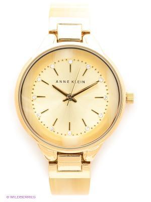 Часы ANNE KLEIN. Цвет: золотистый, светло-бежевый