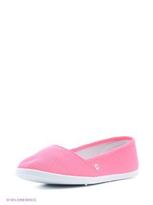 Балетки HCS. Цвет: розовый