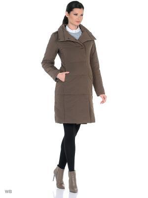 Пальто Shokolat. Цвет: коричневый