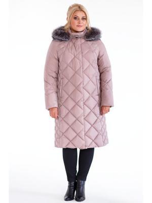 Пальто женское DEFREEZE. Цвет: розовый