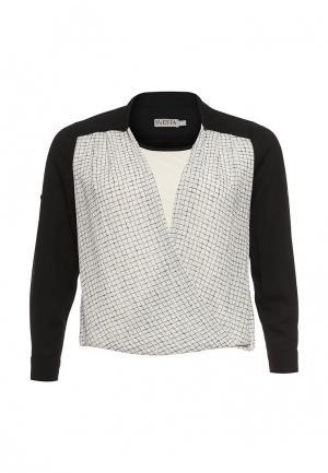 Блуза Svesta. Цвет: черно-белый