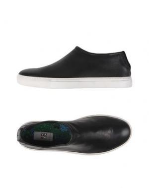 Низкие кеды и кроссовки YAB. Цвет: черный
