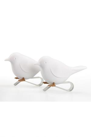 Держатель для салфеток Sparrow Qualy. Цвет: белый