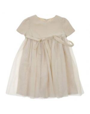 Платье SPECIAL DAY. Цвет: бежевый