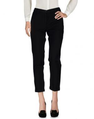Повседневные брюки MYTHS. Цвет: черный