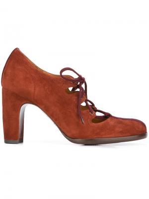 Туфли на шнуровке Ferrian Chie Mihara. Цвет: коричневый