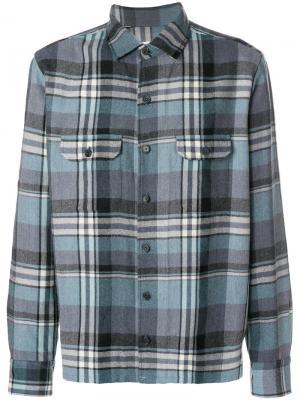 Рубашка в клетку Salvatore Piccolo. Цвет: многоцветный