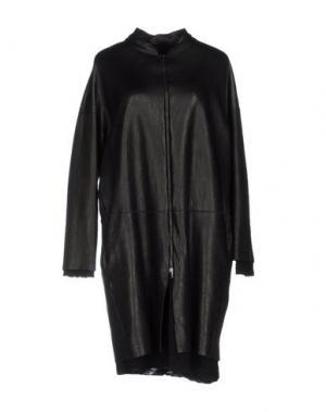 Пальто SALVATORE SANTORO. Цвет: черный
