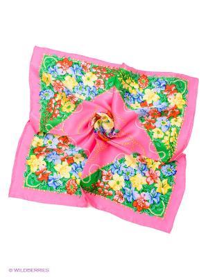 Платок Venera. Цвет: розовый, зеленый