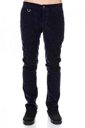 Штаны прямые  Corduroy Chino Pant Blue K1X. Цвет: синий
