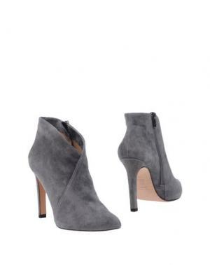 Полусапоги и высокие ботинки PURA LÓPEZ. Цвет: серый