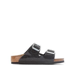 Туфли без задника с радужным отливом Arizona BIRKENSTOCK. Цвет: черный