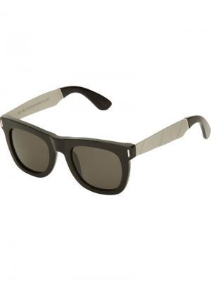Солнцезащитные очки Ciccio Francis Saldatura Retrosuperfuture. Цвет: чёрный