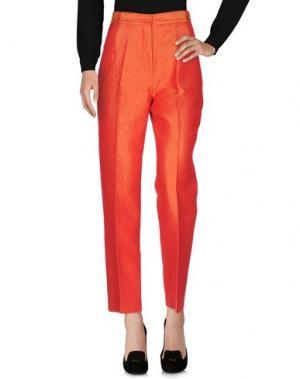 Повседневные брюки MARIO BORSATO. Цвет: оранжевый