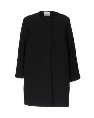 Пальто H2O ITALIA. Цвет: черный