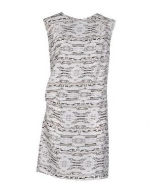 Короткое платье DAGMAR. Цвет: белый
