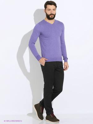 Пуловер Oodji. Цвет: фиолетовый