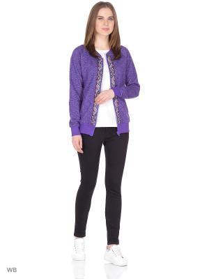 Бомбер D.S. Цвет: фиолетовый