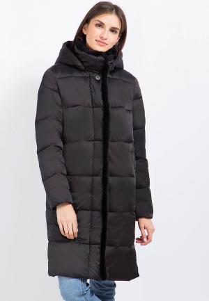 Куртка утепленная Finn Flare. Цвет: коричневый