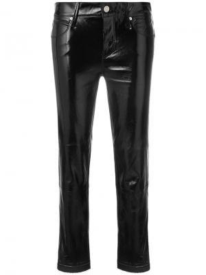 Укороченные брюки Rta. Цвет: чёрный