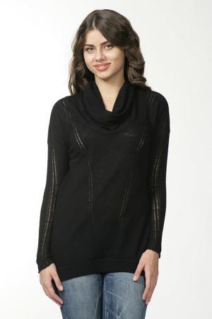 Пуловер вязаный Malandrino. Цвет: черный