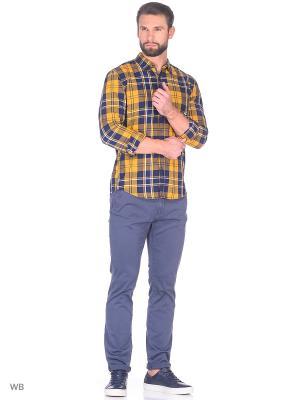 Рубашка TOM TAILOR. Цвет: золотистый, бежевый