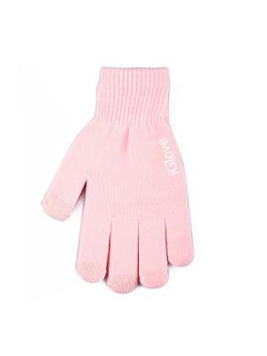 Перчатки iGlove для сенсорных экранов Liberty Project. Цвет: розовый