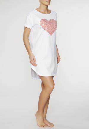 - Mit viel Herz Ночная рубашка Белый Louis & Louisa