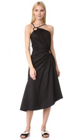 Платье Janet Jill Stuart. Цвет: голубой