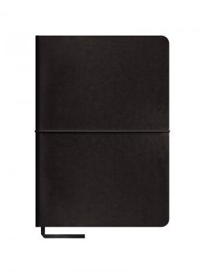 Записная книжка Caprice soft на резинке Office space. Цвет: черный